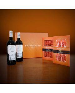 Surtido Jabugo y Rioja Maximiliano Jabugo